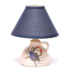Small Blue Crab Lamp