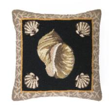 South Beach Shell Ii Hook Pillow
