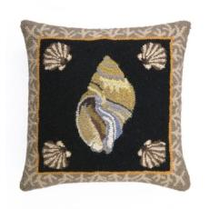 South Beach Shell Iv Hook Pillow