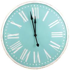 Spa Wood Clock