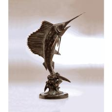 Tail Walker Sailfish Sculpture