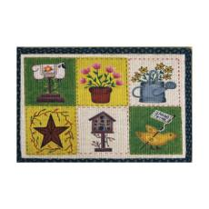 Spring Patch Rug