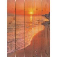 Sunset Wood Art