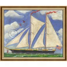 Ship Philadelphia Framed Art