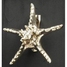 StarFish Door Knocker-Brass
