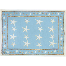 Starfish Scatter Rug in 5 Sizes