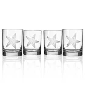 Starfish DOF Glass Set of 4