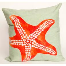 Starfish Seafoam Pillow