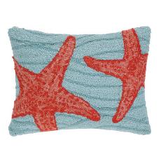 Blue Ocean Starfish Hook Pillow