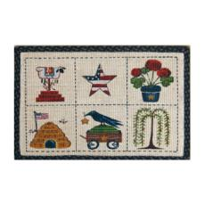 Summer Patch Rug