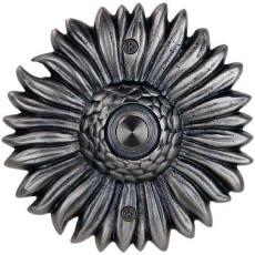 Sunflower Pewter Doorbell