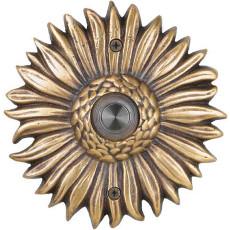Sunflower Brass Doorbell