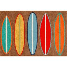 Surfboards Indoor Outdoor Rug