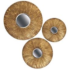 Swirl Round Mirrors
