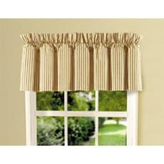 Treasure by the Sea Taupe Window Valance