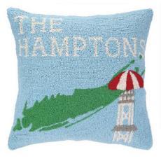 Take Me To Hamptons Hook Pillow