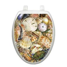 Tidal Treasures Toilet Seat Decoration