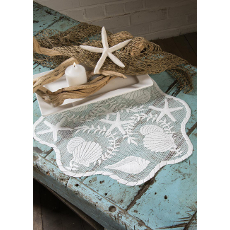 Tidepool Round Doily Set of 6