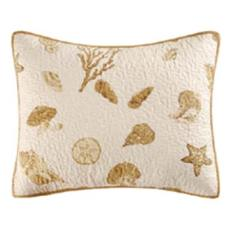 Treasure by the Sea Taupe Pillow Sham