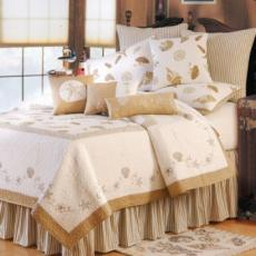 Treasure by the Sea Taupe Bedding