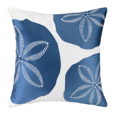 Tri Sand Dollard Embroidered Pillow