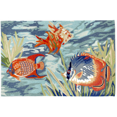 Tropical Fish Rug Indoor Outdoor Rug