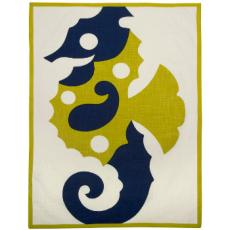 Seahorse Tea Towels Set of 2