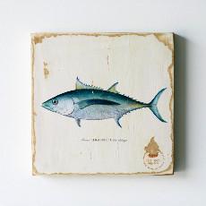 Tuna Lithograph Art