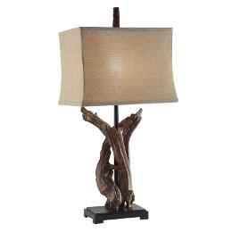Twisted Drift Wood Lamp 33 HT