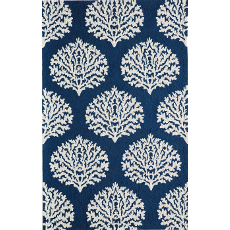 Veranda Navy Indoor Outdoor Rug