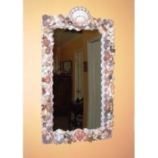 Victorian Reflection Shell Mirror