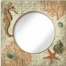 Vintage Seahorse Wall Mirror