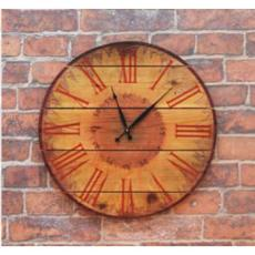 Warm Summers Indoor Outdoor Cedar Clock