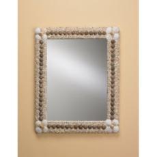 Waterfront Seashell Mirror