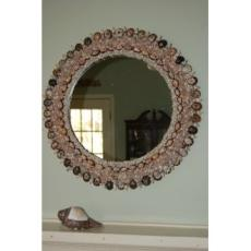 West Indies Shell Mirror