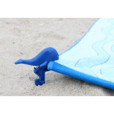 Whale Shaped Beach Towel Clips
