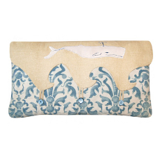Whale Envelope Style Pillow