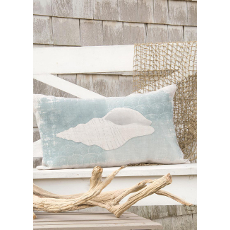 Beachcomber Whelk Pillow