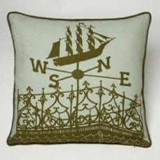 Widows Walk Nautical Pillow