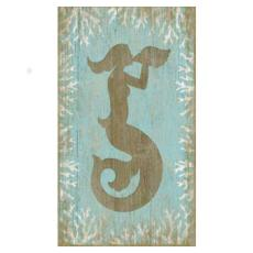 Wood Mermaid Wall Art