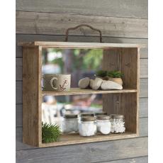 Wooden Drawer Mirror