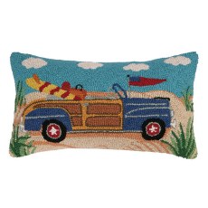 Woodie Convertible Hook Pillow