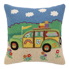 Going Places Station Wagon Ii Hook Pillow