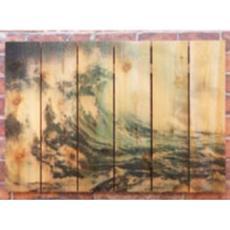 Wild Wave Wood Art