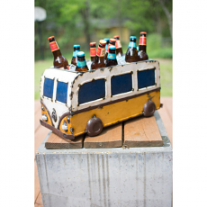 Recycled Iron Van Planter and Cooler