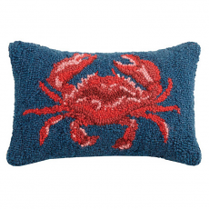 Crab Rectangle Hook Pillow