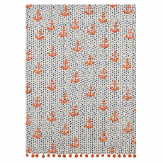 Anchors and Dots Kitchen Towel