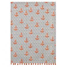 Anchors And Dots Kitchen Towel
