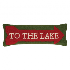 To The Lake Hook Pillow