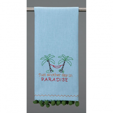 Another Day In Paradise Kitchen Towel